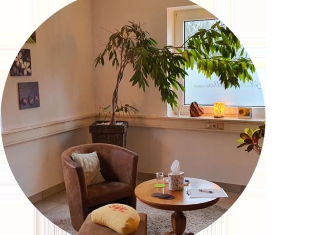Räumlichkeiten der Praxis für Psychotherapie Bochum